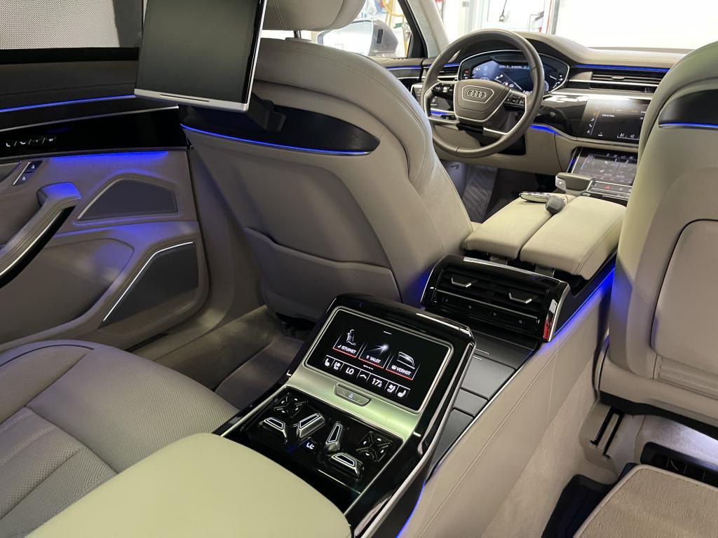 AUDI A8L, 50 TDI quattro Sähkösäätöiset yksittäisistuimet takana Night vision -pimeänäköavustin Bang & Olufsen Advanced 3D YM YM