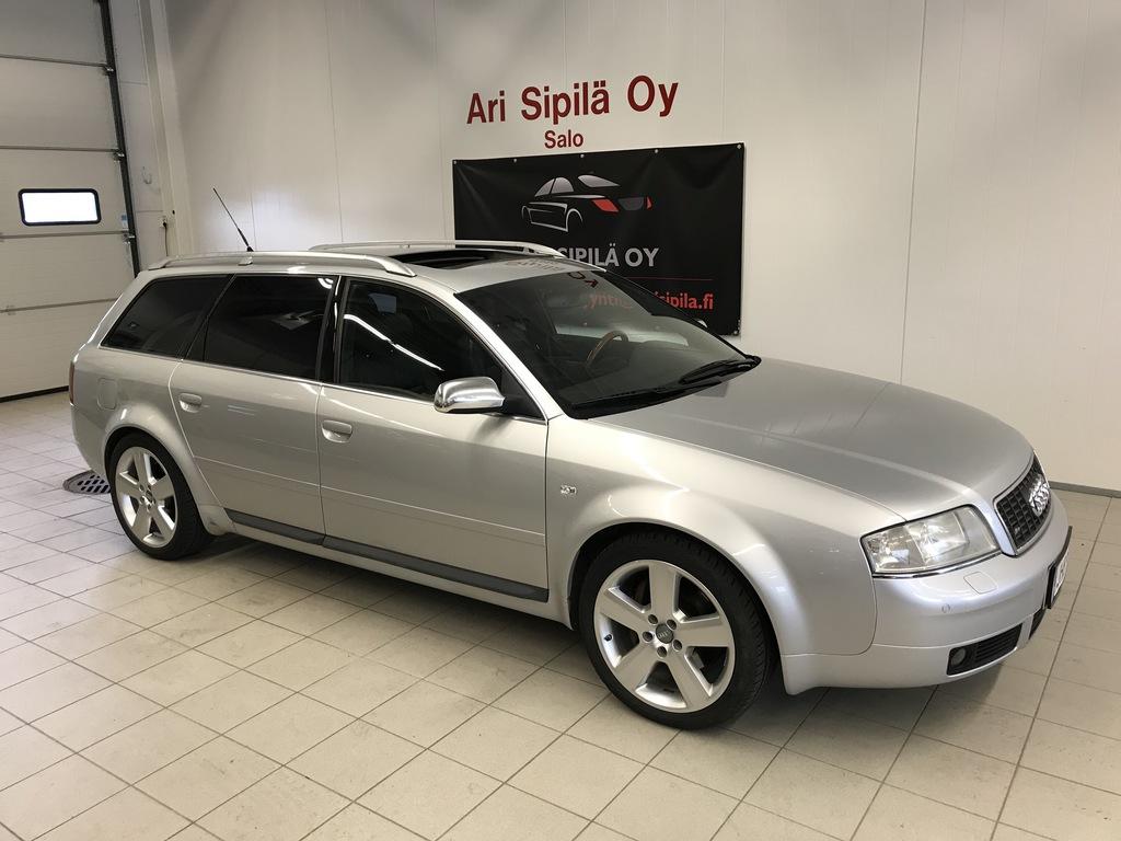 Audi S6, S6 AVANT QUATTRO  4.2  HUIPPUVARUSTEILLA NAVI NAHKA AURINKO KENNO KATTO.L KOUKKU WEBASTO YM YM