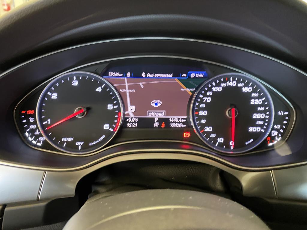 Audi A7 Sportback , A7 Sportback FACE LIFT  235KW HUIPPUVARUSTEILLA    2X S-LINE LED VALOT NAHKA.SIS  Mukautuva vakionopeussäädin YM YM