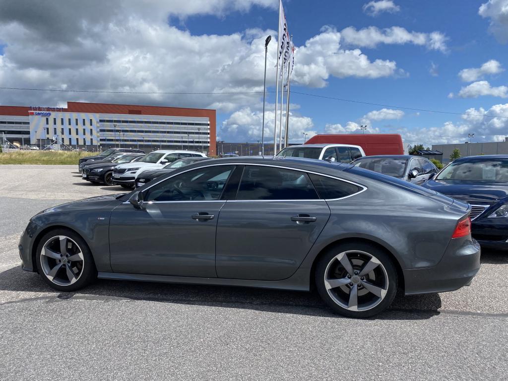 Audi Audi A7, S-LINE HUIPPUVARUSTEILLA ILMAJOUSITUS ACC CRUISE BOSE KATTO.L