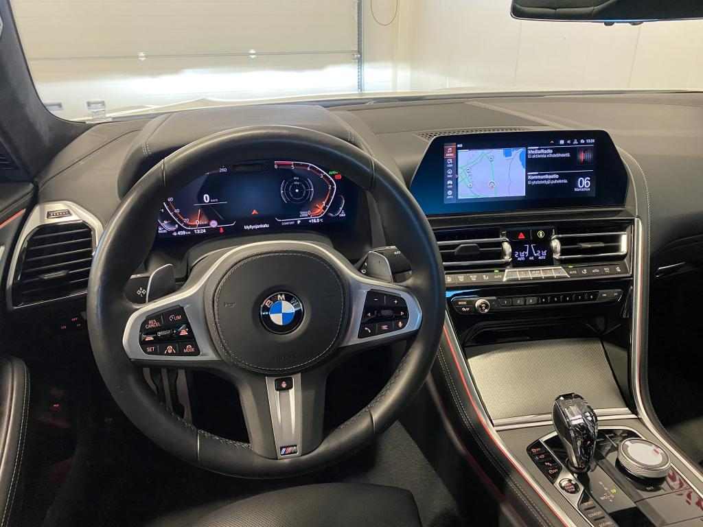 BMW 840d XDrive, M-SPORT HUIPPUVARUSTEILLA MERINO NAHKA SIS NIGHT VISION CARBON KATTO YM YM