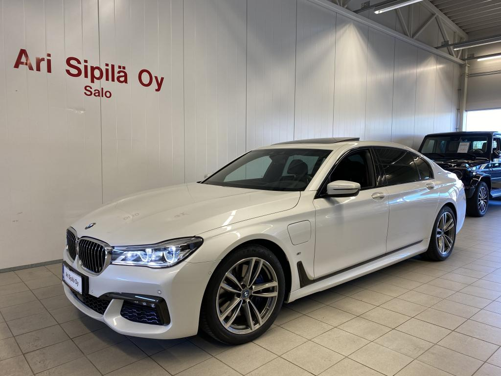BMW 740, NYT HUIPPUVARUSTELTU NELIVETO  HYBRID 740LeX M Aerodynamics Package