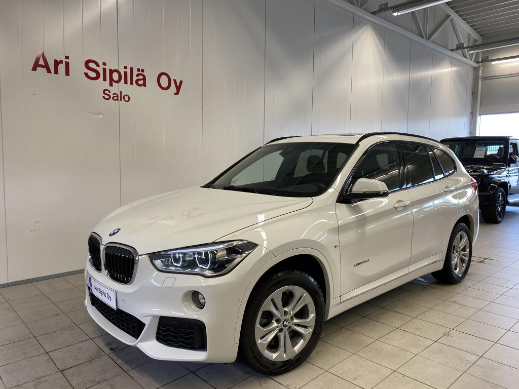BMW X1 xDrive20d,  M Sport  AJETTU VAIN 17.TKM SUOMI AUTO HUIPPUVARUST.Sports Seat
