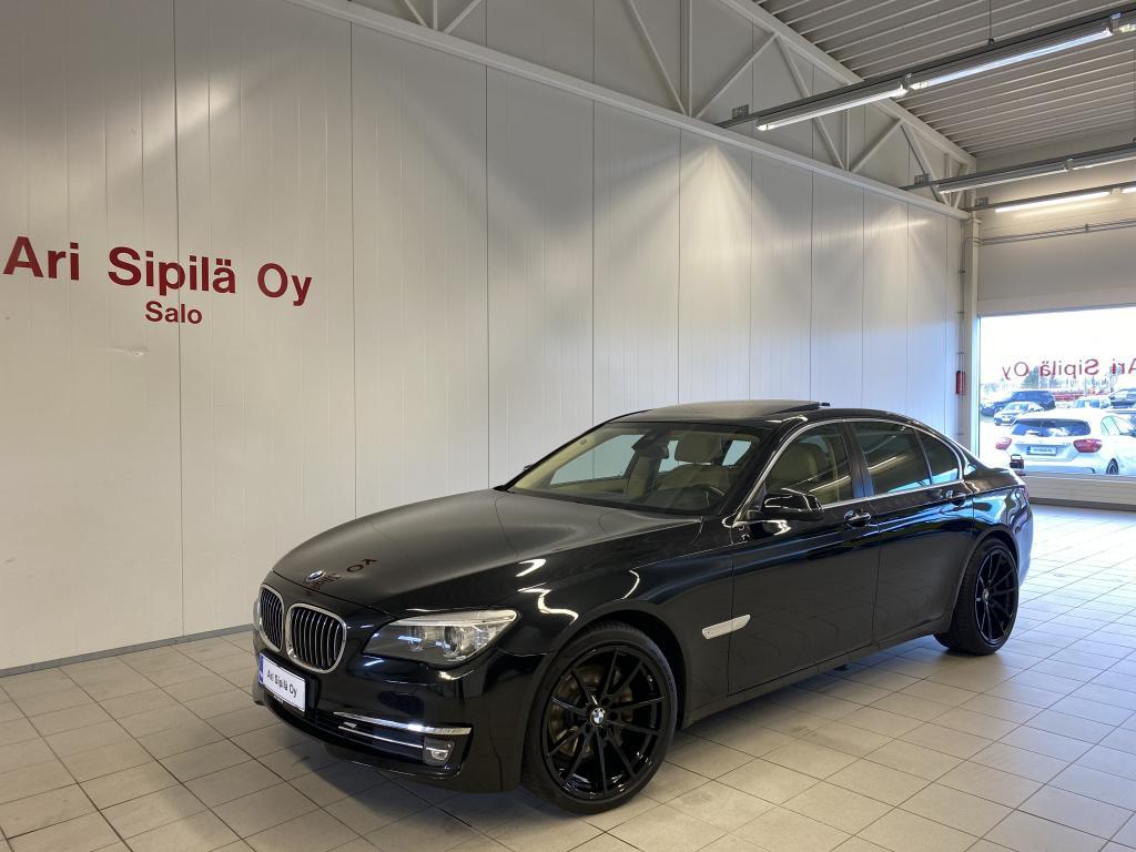 BMW 740 , NELIVETO INDIVIDUAL HUIPPUVARUSTEILLA MERINO NAHKA(HUOLLETTU 30.3.20) WEBASTO YM YM
