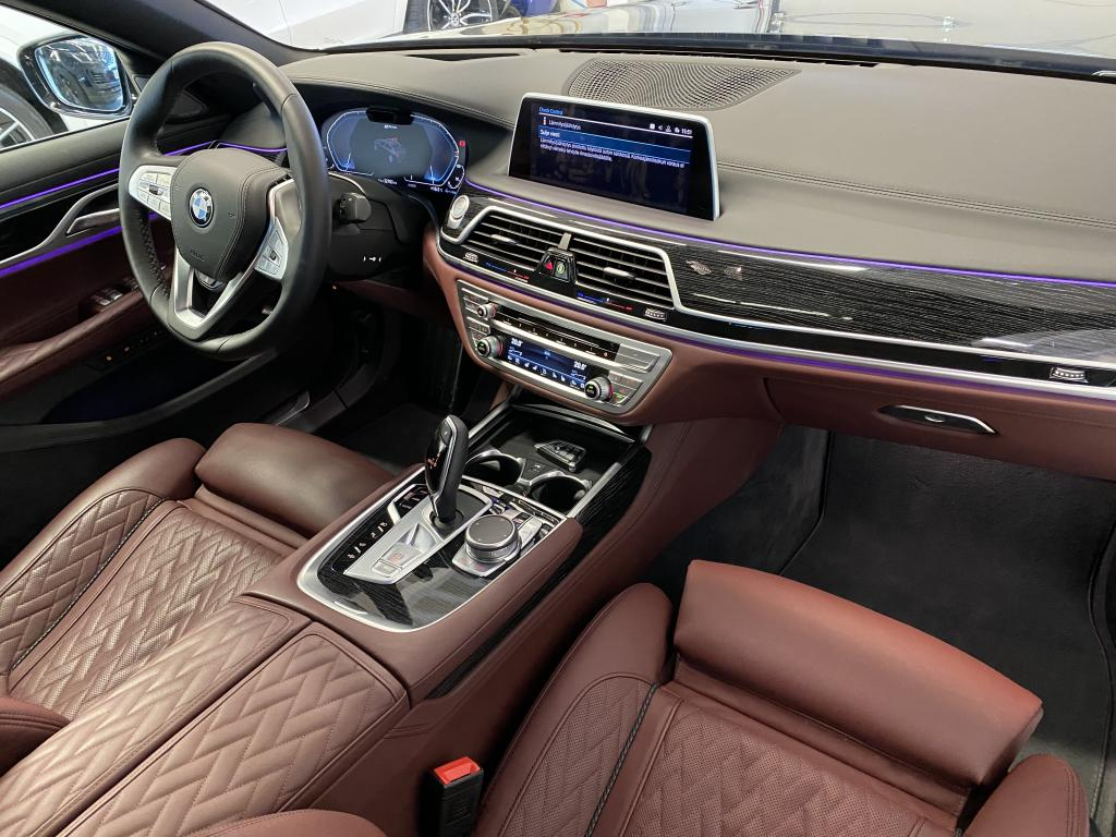 BMW 745Le Xdrive, INDIVIDUAL HUIPPU VARUST.EXECUTIVE LOUNGE MASSAGE TV