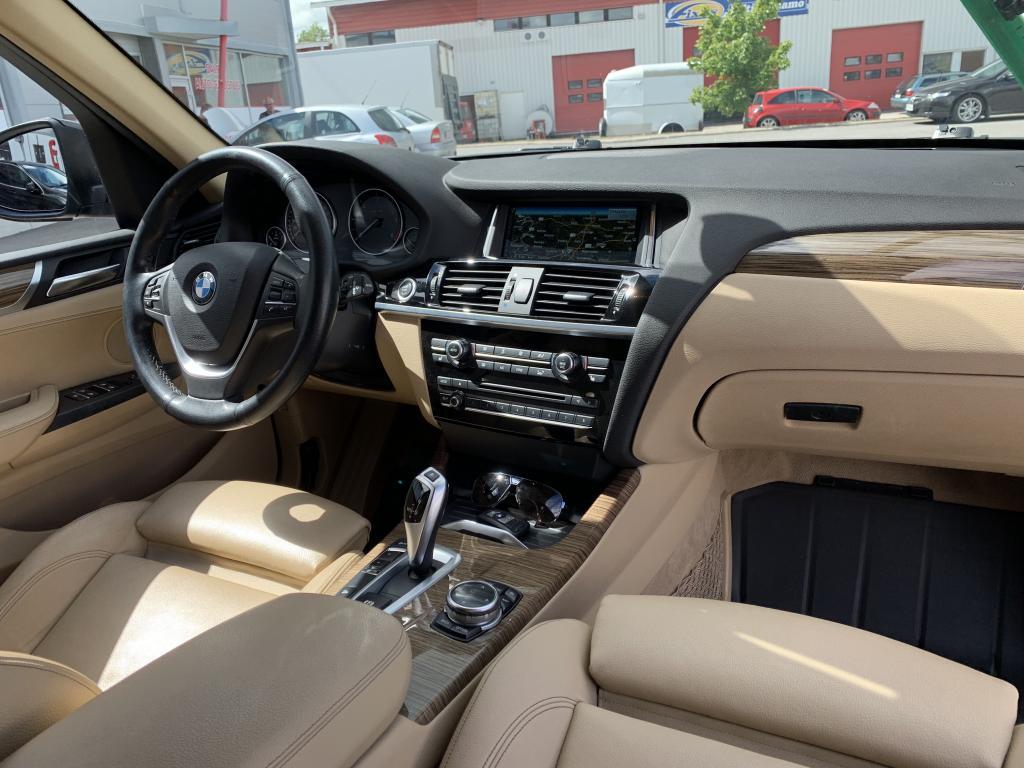 BMW X3, YKSILÖ X3 BMW TAKUU SPORTTI NAHKA SIS    M SPORT