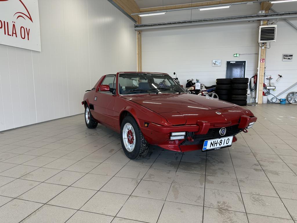 Fiat X 1/9, HARDTOP X1-9 MUSEO REKISTERÖITY KATSASTUS 30.09.2024  HIENO KUNTOINEN