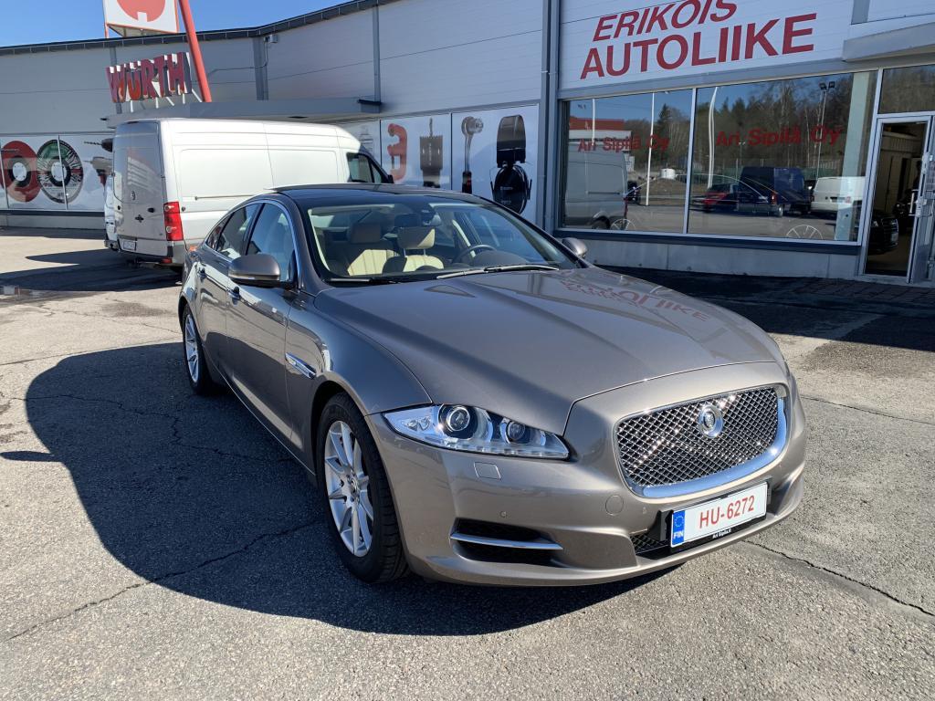 Jaguar Jaguar XJ, JAGUAR XJ 3.0 DIESEL AJETTU VAIN 28000KM \r\nHUIPPUVARUSTEILLA