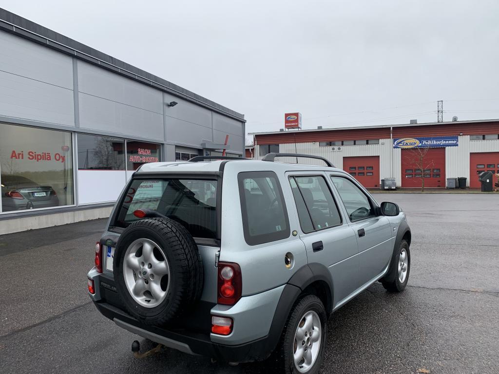 Land Rover Freelander, 5D FREELANDER STW 2.0 TD4 AUTOMATIC-LNE4-4X4 ilmastointi