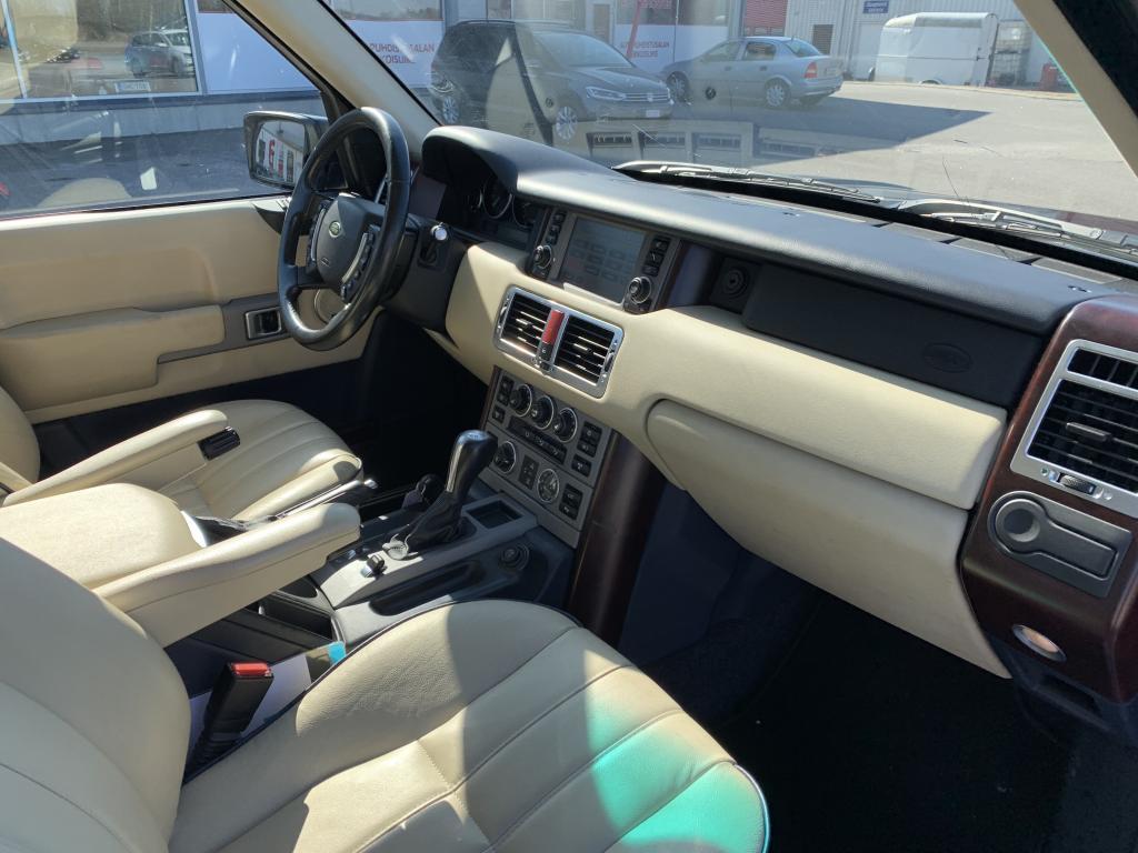Land Rover Range Rover, ISO RANGE ROVER EDULLISESTI