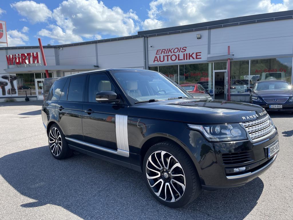 Land Rover Range Rover, TYYLIKÄS ISO RANGE HUIPPUVARUSTEILLA