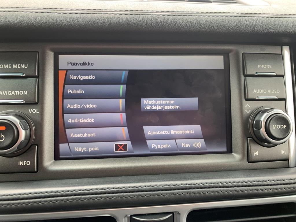 Land Rover Range Rover, FACE LIFT V8 diesel AUTOBIOGRAPHY HUIPPU VAR. DVD. WEBASTO