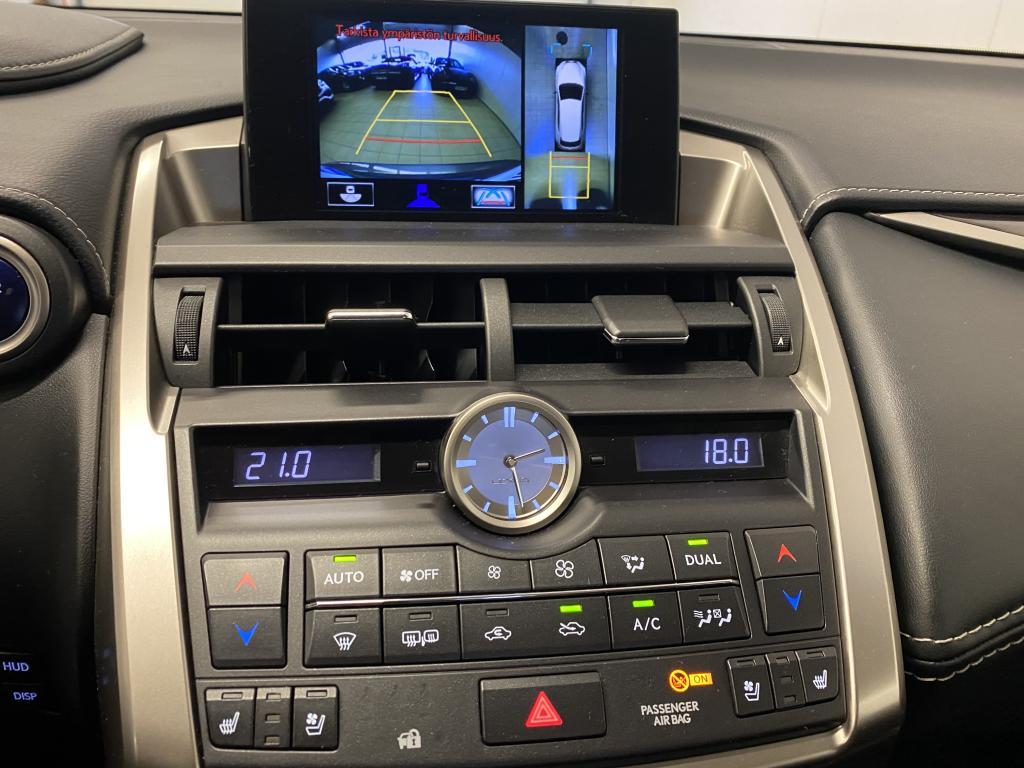 Lexus LEXUS NX300H, HUIPPUVAR. NELIVETO HYBRID  LED VALOT HUD NÄYTTÖ ILMASTOITU JA LÄMMITETYT  NAHKA IST. RATIN LÄM. MARK LEVINSON REK 12/15