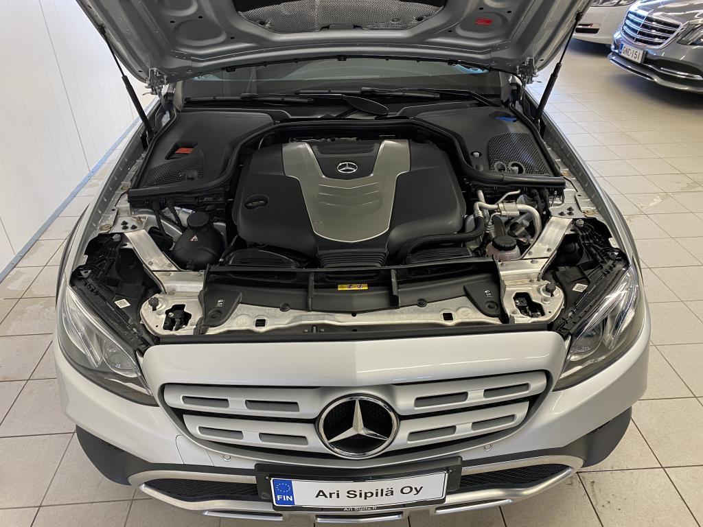 Mercedes-Benz E, E 350 d 4MATIC ALL TERRAIN HUIPPUVARUSTEILLA  REK11/18 AIRMATIC NAVI SPORT NAHKA.SIS KOUKKU KAMERA  YMYM