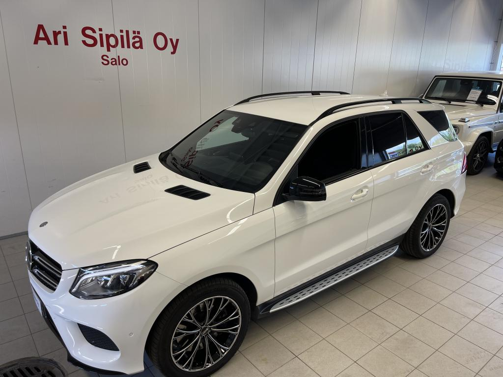 Mercedes-Benz GLE 500 4MATIC, AMG SPORTS PACKAGE 450HV V8  DRIVING PACKAGE NAPPA NAHKA DISTRONIC PLUS