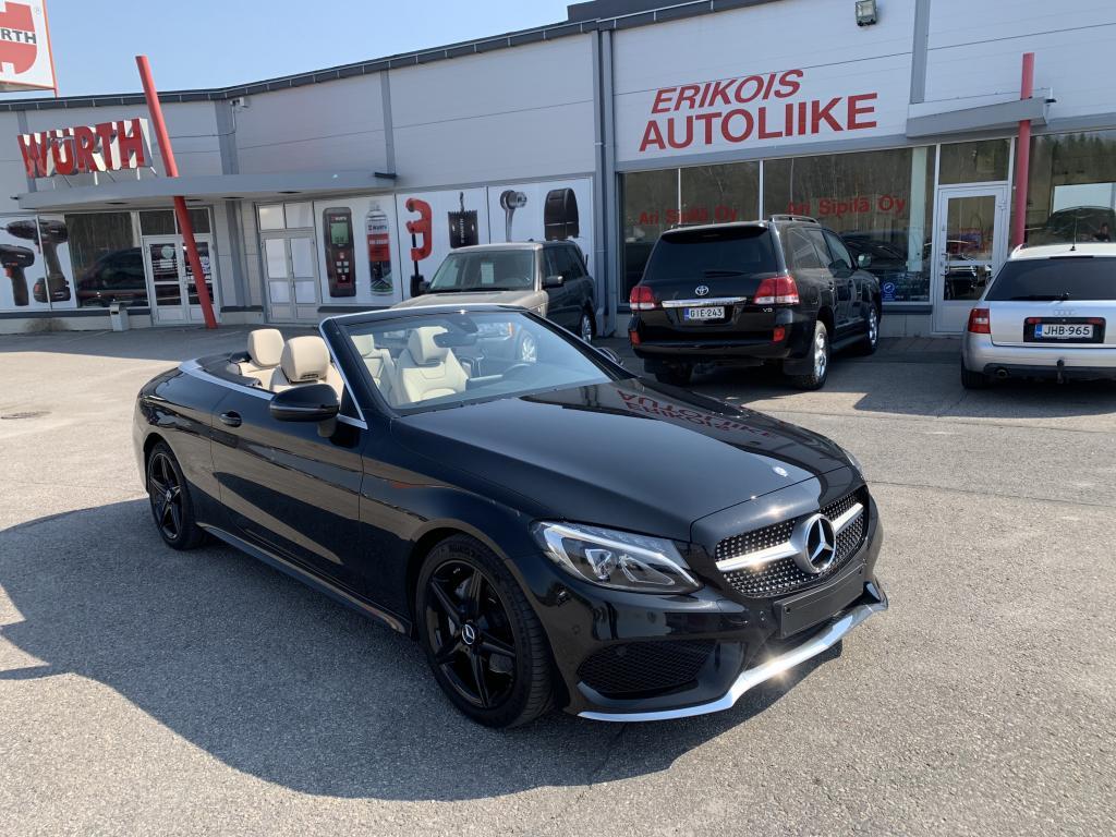 Mercedes-Benz C, AMG LINE INTERIOR/AMG LINE EXTERIOR   AMBIENT ILLUMINATION    LEATHER - BEIGE  ym ym