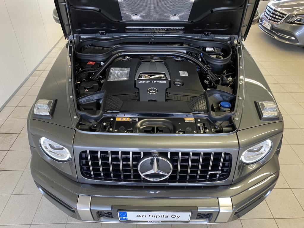 Mercedes-Benz G 63 AMG  Edition, HETI VARASTOSTA UUSI AMG REK.K-AUTO SIS.ALV. HUIPPUVARUSTEILLA/NAPPA NAHKA/AMG RIDE CONTROL/BURMESTER WEBASTO/Designo