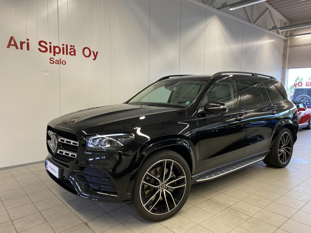 Mercedes-Benz GLS 400 d 4MATIC, AMG styling  (ADS+) 7-seat DISTRONIC PLUS Panoramic sliding sunroof 