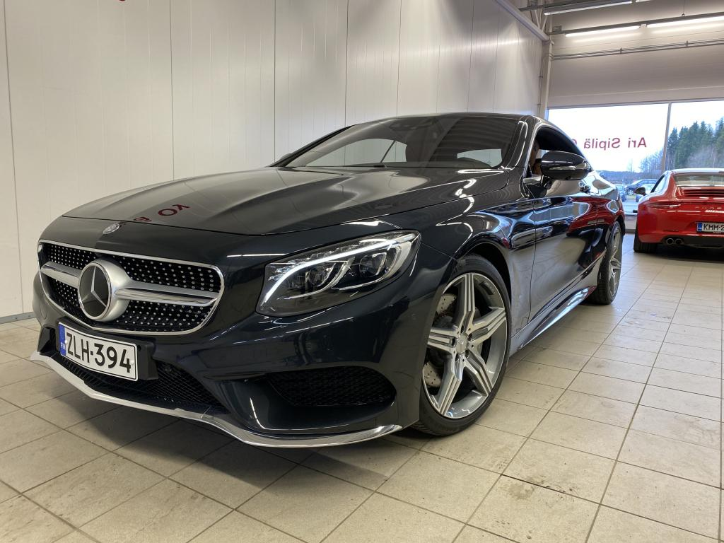 Mercedes-Benz S 500 4MATIC, MERCEDES S500 4MATIC COUPÉ 