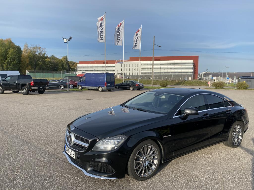 Mercedes-Benz CLS 500, AMG HUIPPU VARUSTEILLA