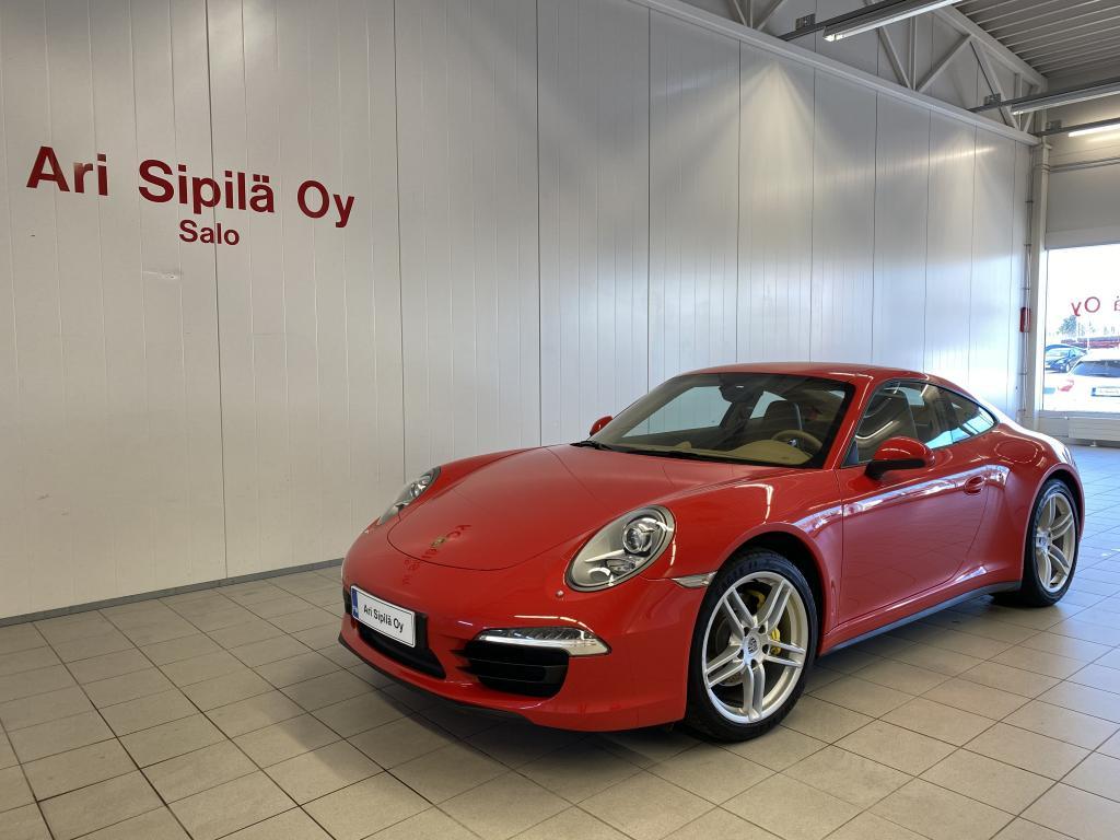 Porsche 911 CARRERA 4, 911 CARRERA 4(991) CoupéPDK  SUOMI AUTO AJETTU VAIN 35TKM