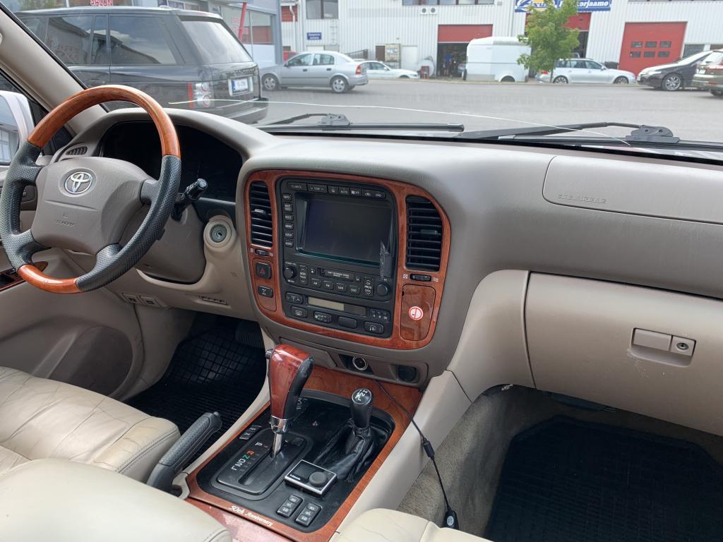 Toyota , 5D LAND CRUISER 4.2TD-AUTOM.-HDJ100 AJETTU VAIN 620000 TKM
