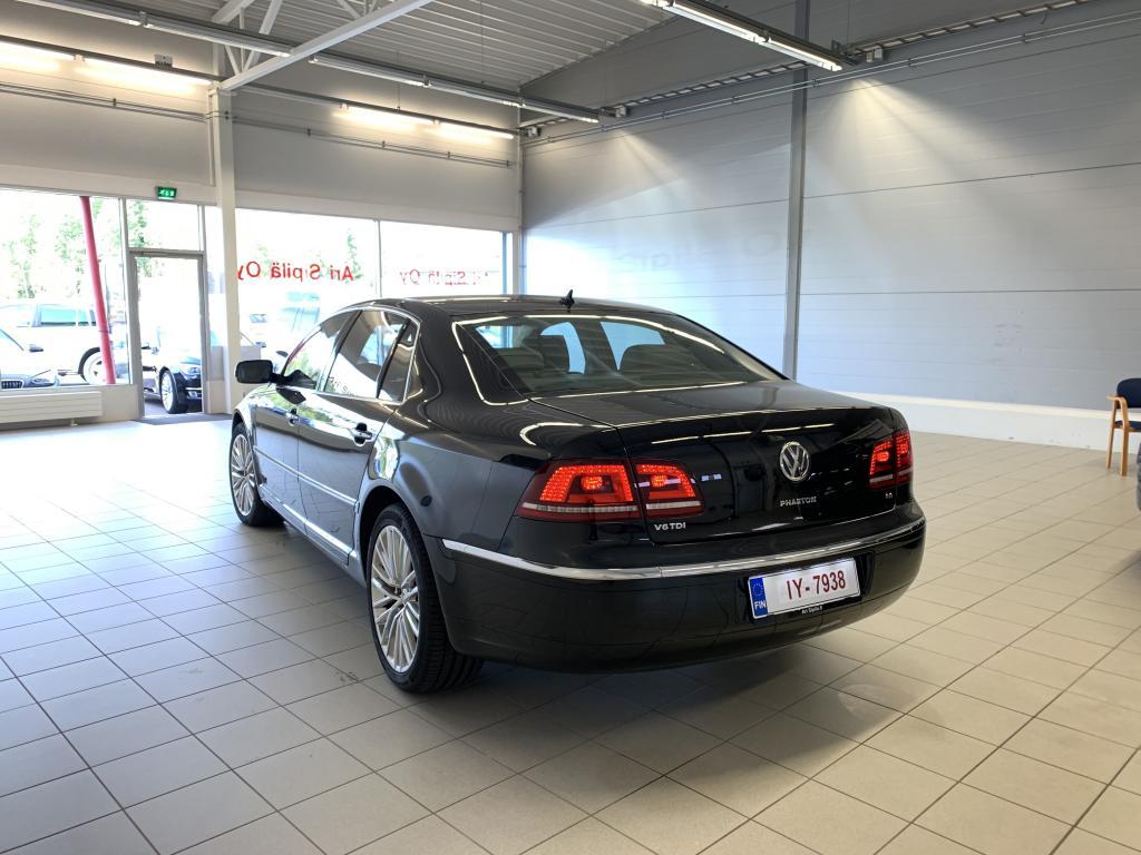 VW PHAETON, HUIPPUVARUSTEILLA 4 HLÖ FACE LIFT