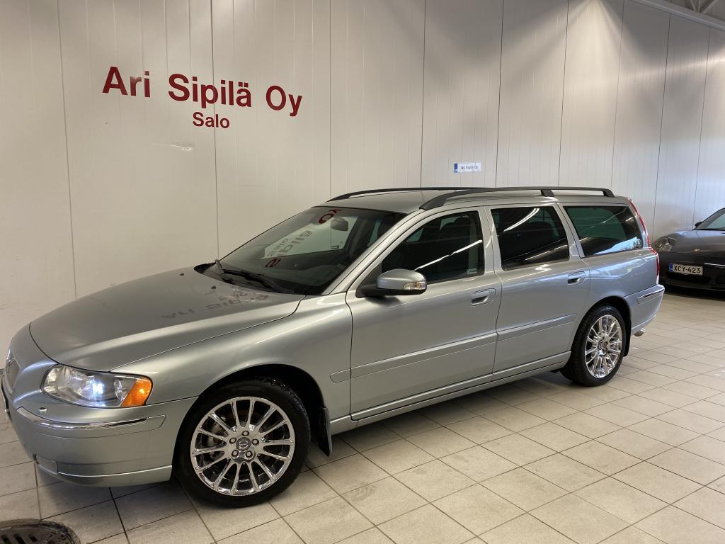 Volvo V70, YKSILÖ DIESEL HUIPPUVARUSTEILLA
