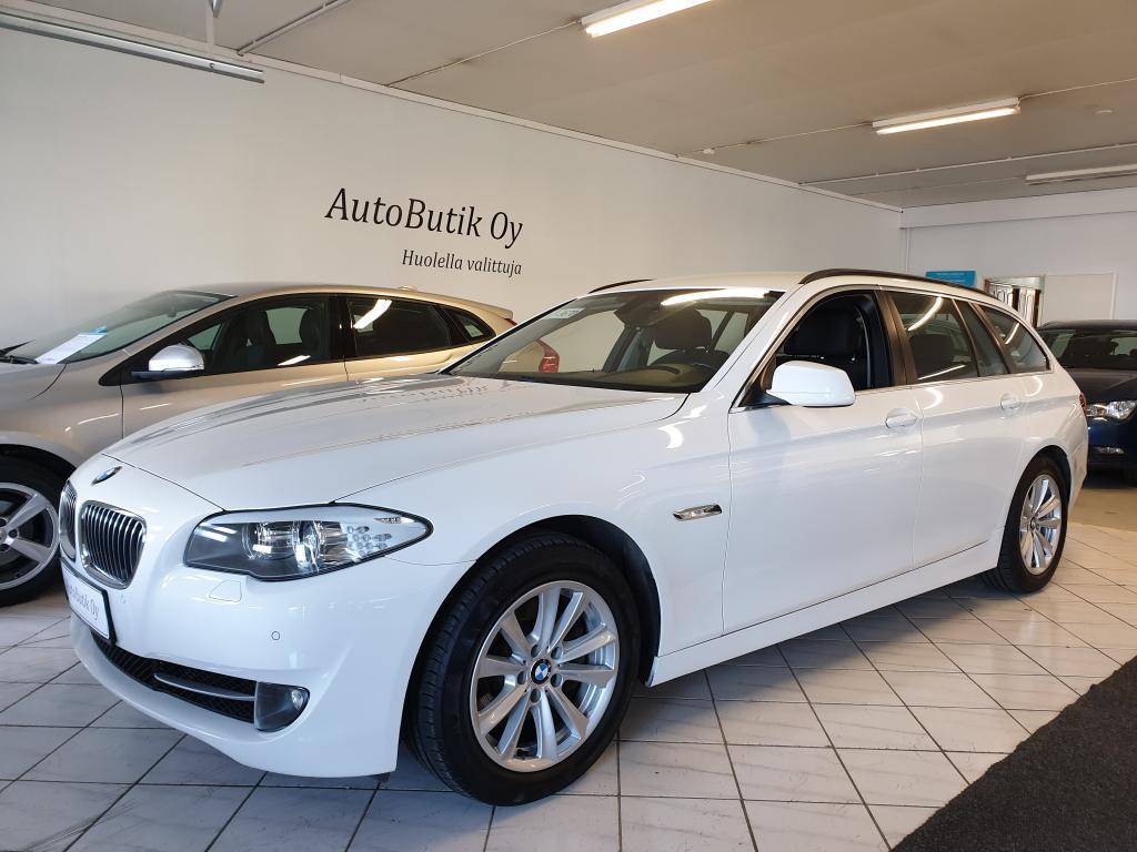 BMW 520 TOURING DSL 2.0 184 HV KESKIKULUTUS VAIN 4.9/100km co2 130g  RAHOITUS 0, 99%