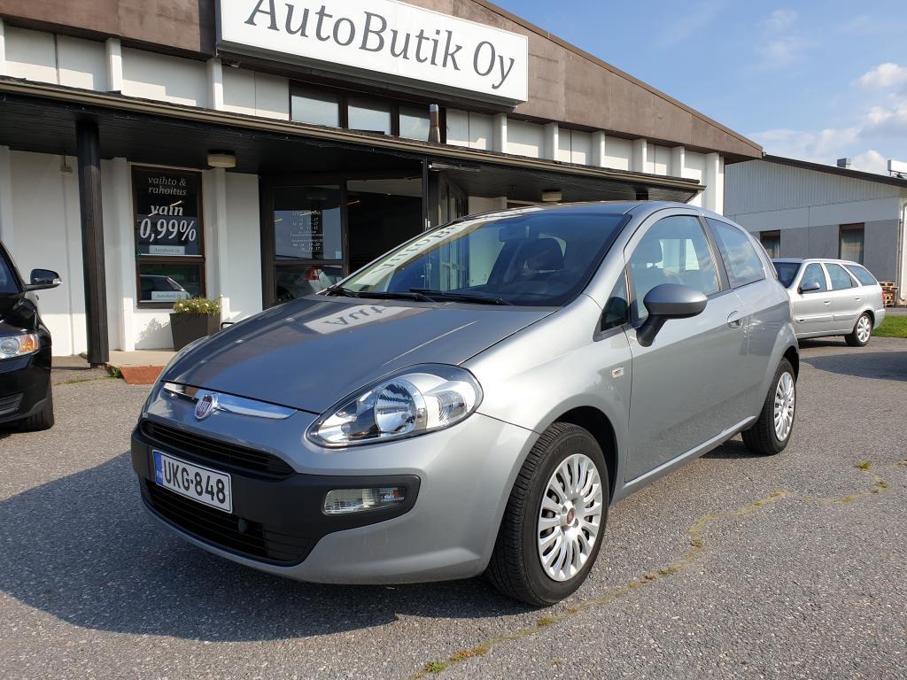 Fiat Punto 1.4i EVO 3-ov  77hv KESKIKULTUS 5.7 HARVINEINEN YKSILÖ AJETTU VAIN 25 tkm. YKSI OMISTAJA. JUURI HUOLLETTU RAHOITUS 0, 99