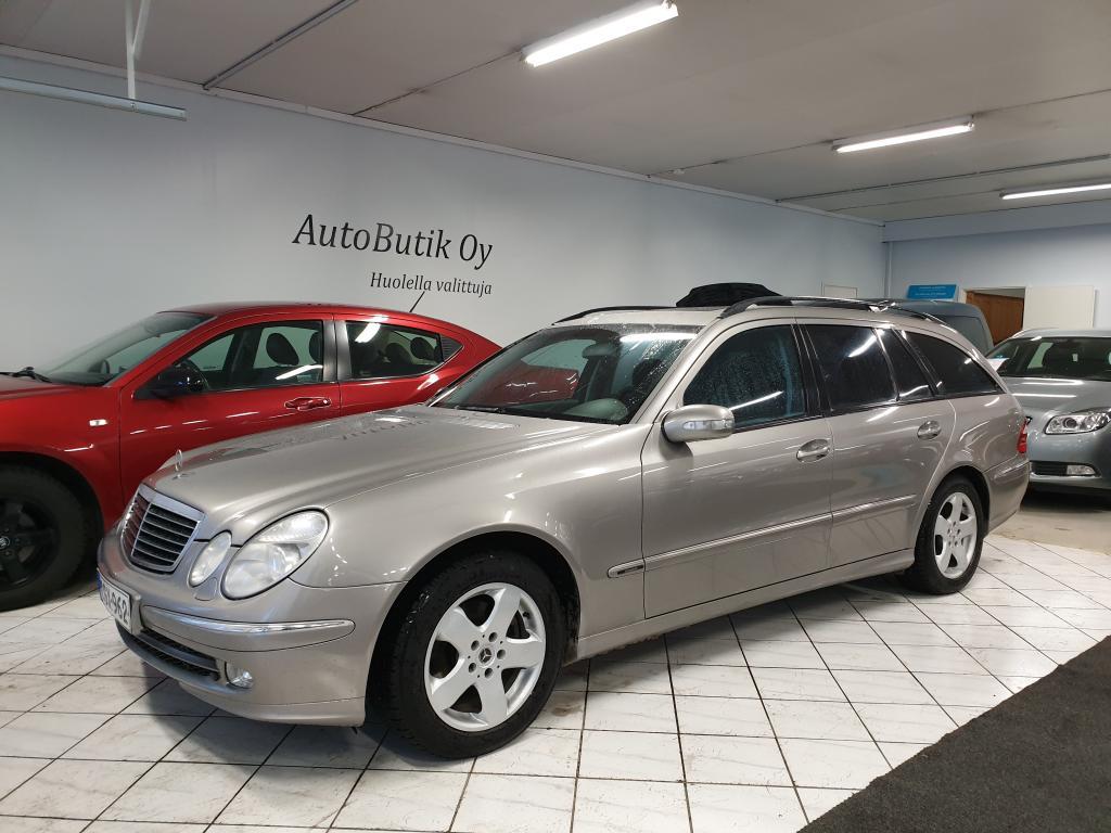 Mercedes-Benz E 270 CDI STW AUTOMAATTI 176 HV HYVÄLLÄ HUOLTOKIRJALLA JA SIISTISSÄ KUNNOSSA OLEVA MERSU!