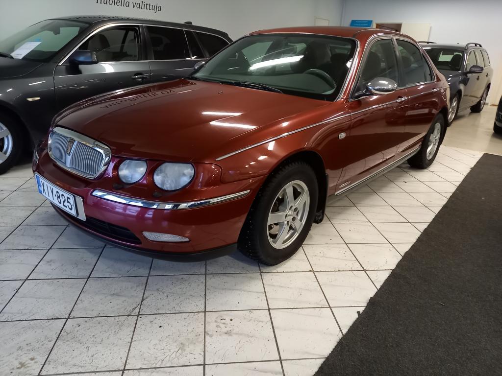 Rover 75 1.8 CLASSIC 120 HV 4D HIENO YKSILÖ OLLUT YLI 10 V. EDELLISELLÄ OMISTAJALLA TÄSTÄ AUTOSTA TULEE KERÄILY HARVINAISUUS!