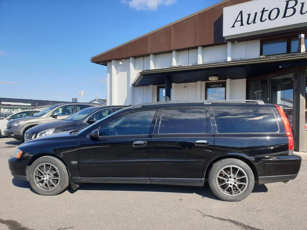 Volvo V70 2.4 D D5 BUSINESS AUTOMAATTI 163 hv RAHOITUS VAIN 0, 99%