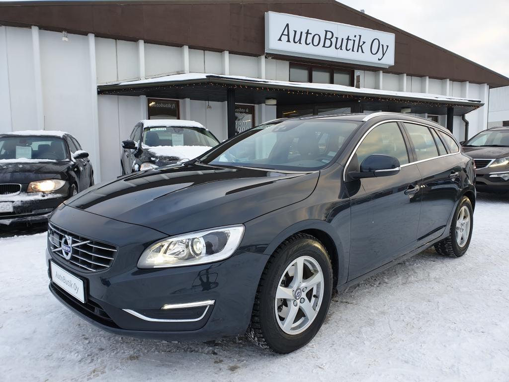 Volvo V60 D4 190 HV AUTOM CLASSIV SUMMUM-Navigation-Driver Alart -Intellisafe Assist- Tehtaan takuu 2-2020 Rahoitus VAIN 0, 99%