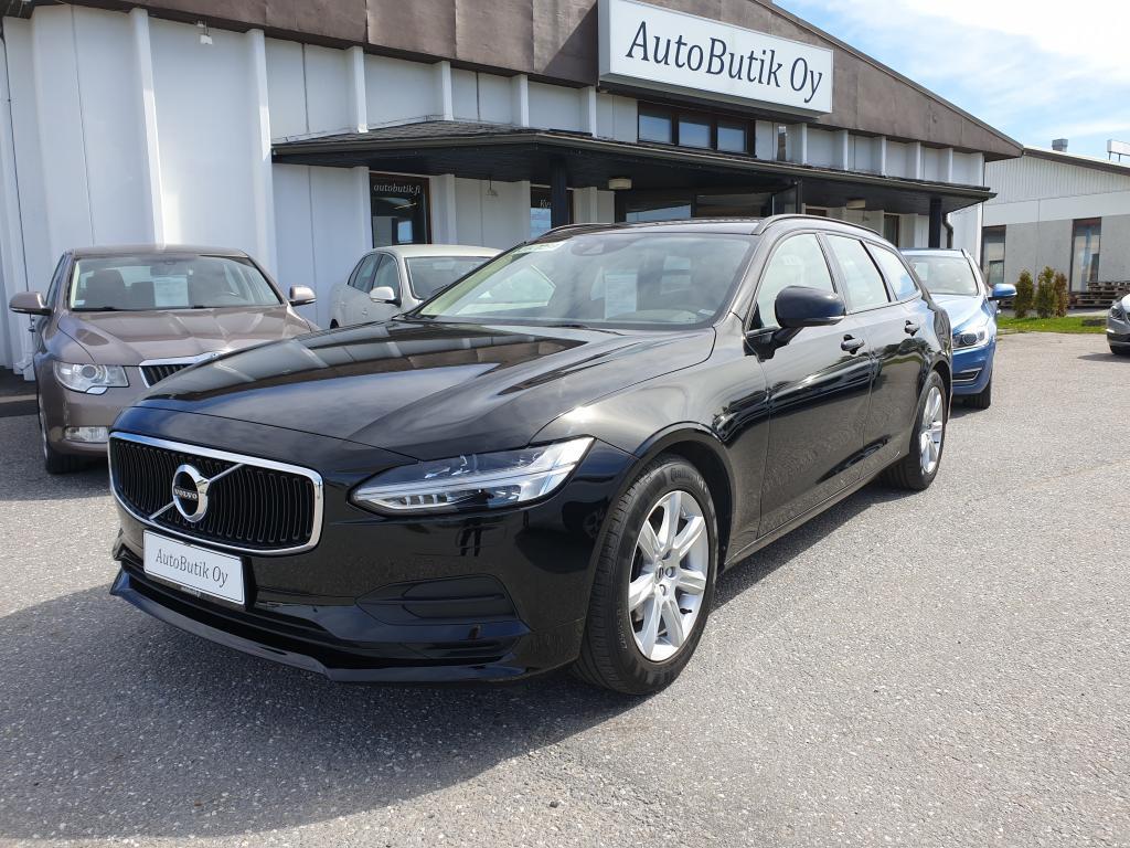 Volvo V90 D3 BUSINESS 2.0 150 HV AUTOMATIC KESKIKULUTUS 4.5l/100km TÄYDELLINEN HUOLTOKIRJA.ADAPTI.PILOT ASSISTANT,  YKSI OM.