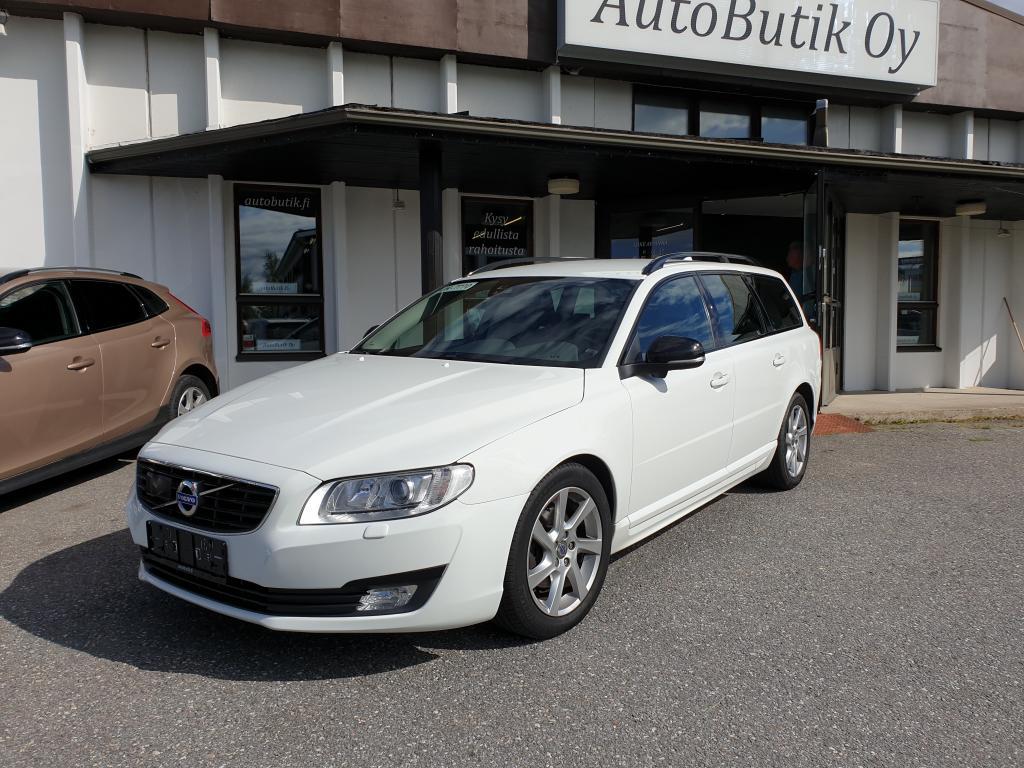 Volvo V70 D4 S/S SPORT EDITION EURO 6 KESKIKULUTUS 4.2/100km ADAPTVAKIONOP BLIS KAISTANPITO TÄYDELLINEN HUOLTOKIRJA RAHOITUS 1, 99%