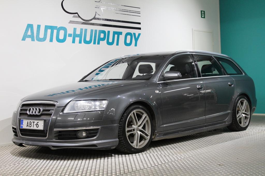Audi A6, 3.0TDI Quattro ABT 233Hv S-line #Huippuvarusteet #Navi #Keyless