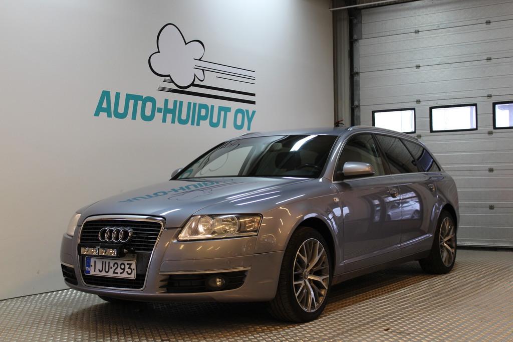 Audi A6, 2.0TDI 190hp **Käsiraha alk.0E** #Seuraava katsastus 8/2019!