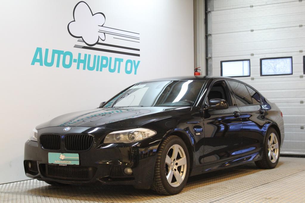 BMW 525, 3.0d M-Sport #Sporttinahat #Iso näyttö #Vetokoukku