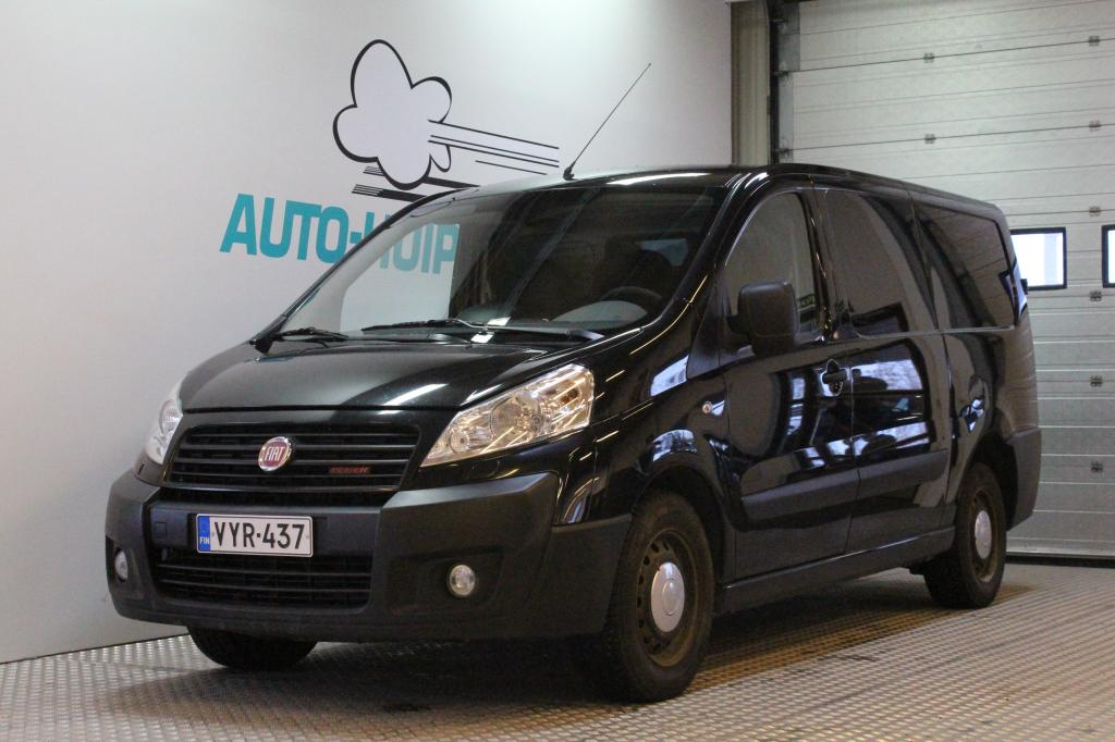 Fiat SCUDO, 2, 0 Multijet 163 hv 6m3 #Webasto #Tutkat #Vakionopeudensäädin