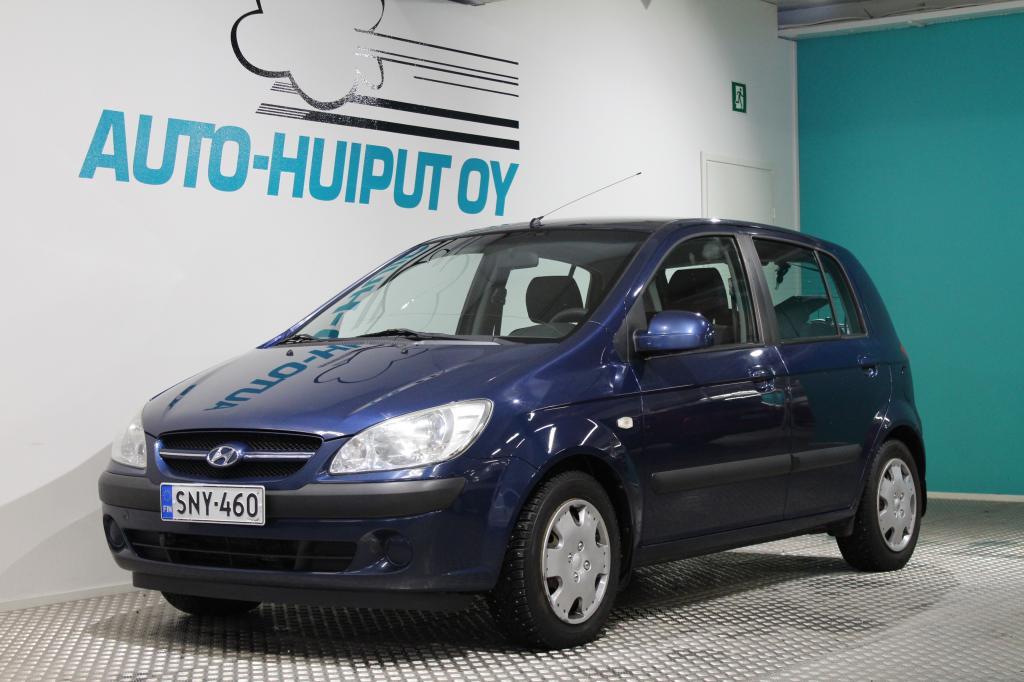 Hyundai Getz, 1, 4 GLS #Ilmastoitu #5-ovinen #Näppärä