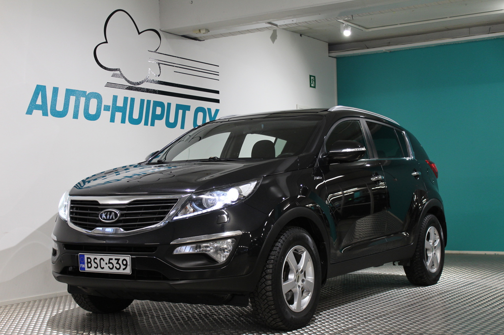 Kia Sportage, 2, 0 AWD EX #Siistikuntoinen #Neliveto #Hyvät varusteet #Lasikatto