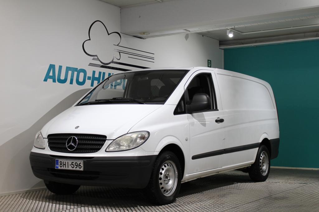 Mercedes-Benz Vito, KASTEN 109 #ALV.väh kelpoinen #Asiallinen #Suomi-auto