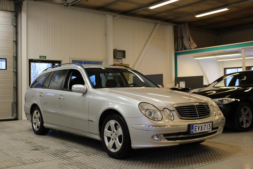 Mercedes-Benz E, E 200 KOMPRESSOR Avantgarde #Siistikuntoinen #Suomi-auto #Puolinahat #Xenonit