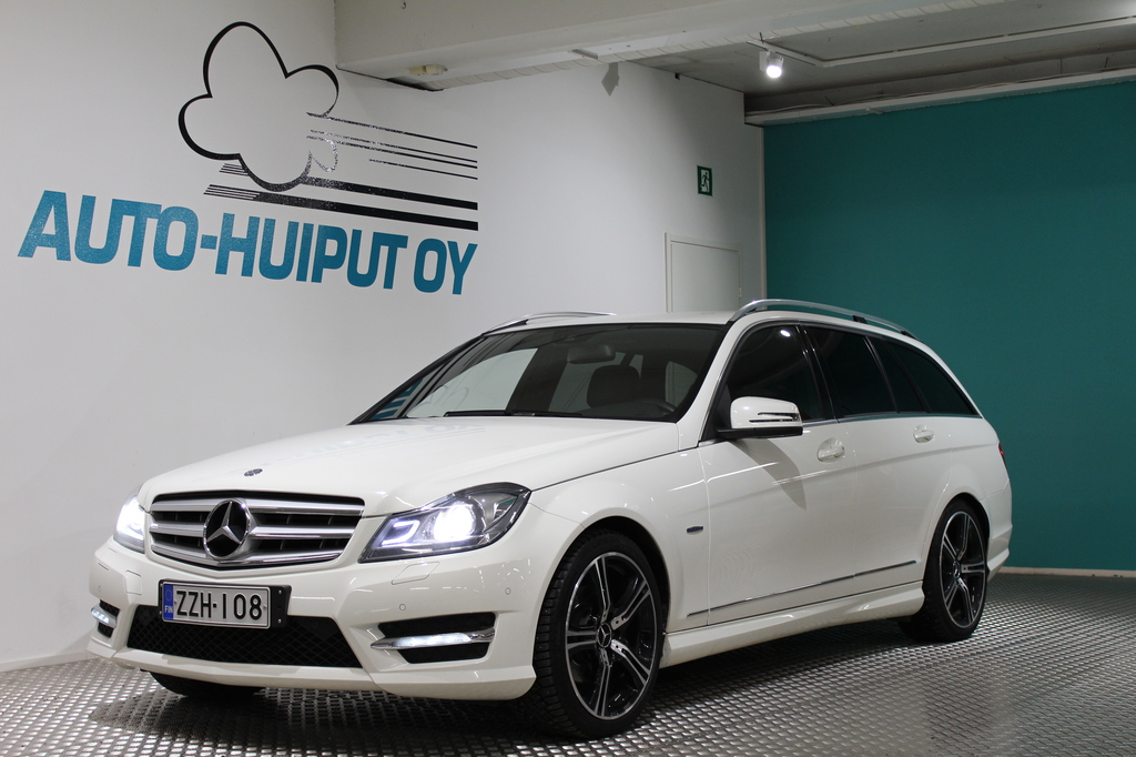 Mercedes-Benz C, 180 CDI BE T A Premium Business AMG-Styling #Suomi-Auto! #Navi #Huippuvarusteet!