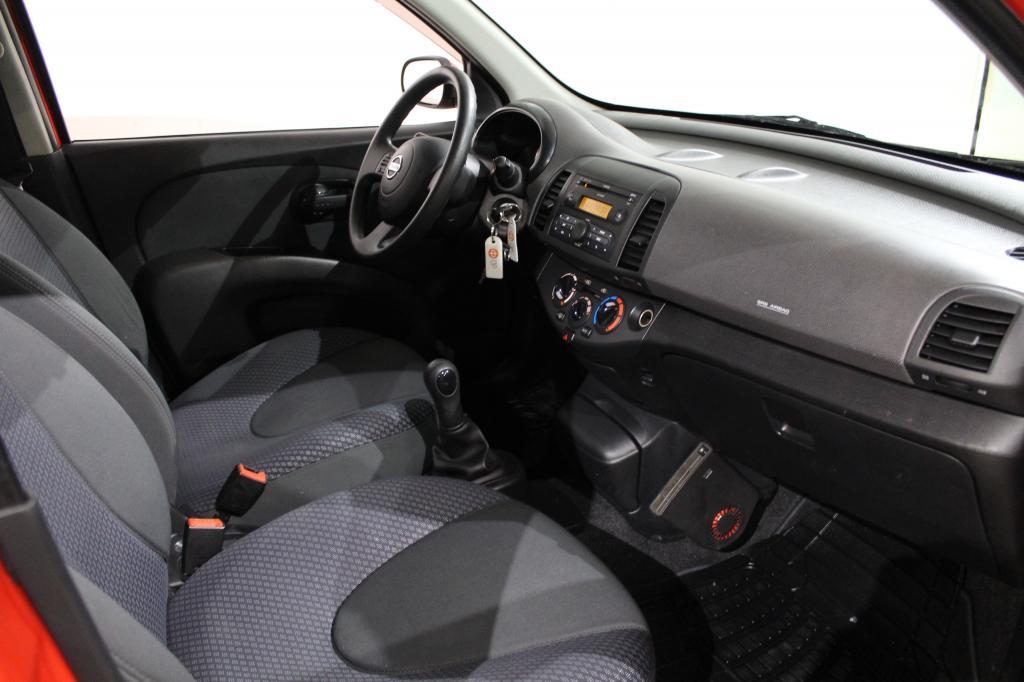 Nissan MICRA, 4D #Asiallisesti pidetty #Näppärä **Juuri tullut** #Siisti #Ilmastoitu