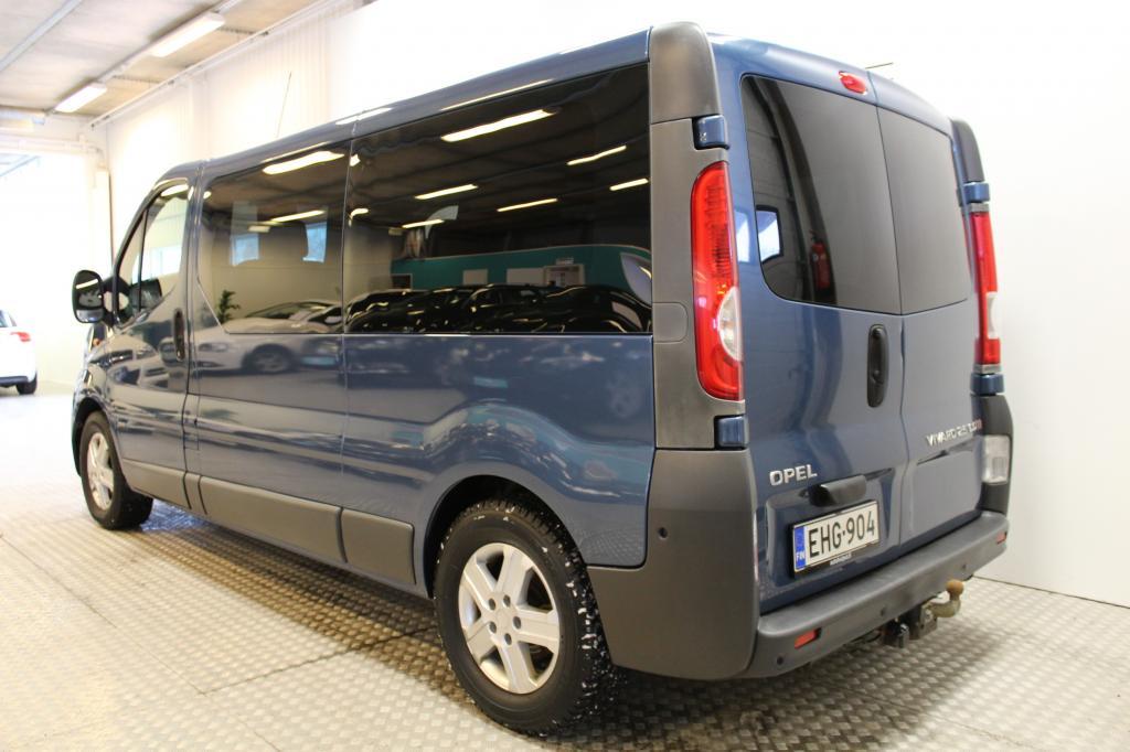 Opel VIVARO, 2.5CDTI #Webasto #9-Paikkainen #Suomi-auto