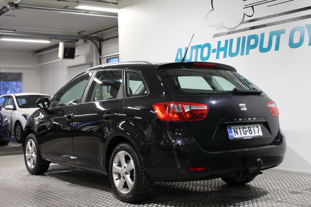 Seat Ibiza ST, 1, 6 TDI Style #Hyvin pidetty #Nahkasisusta #Webasto