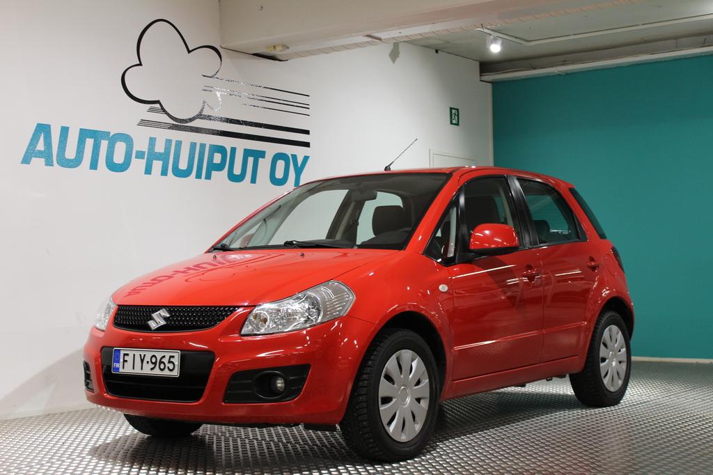 Suzuki SX4, 1, 5 VVT CITY 5MT #Suomi-auto #Käsiraha alk. 0e