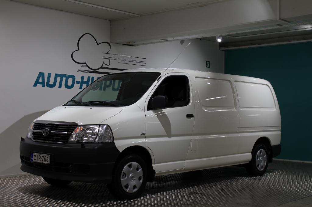 Toyota Hiace, 2, 5 D-4D 95 4ov #Pitkämalli #Huippusiisti #Webasto #Nopeimmalle